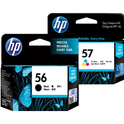 HP 56, 57 Ink Cartridges
