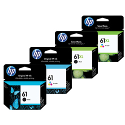 HP 61, 61XL Ink Cartridges