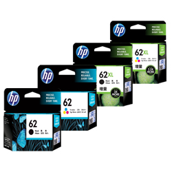 HP 62, 62XL Ink Cartridges