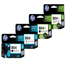 HP 804, 804XL Ink Cartridges