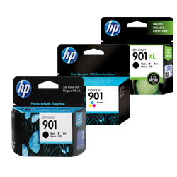 HP 901, 901XL Ink Cartridges