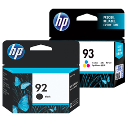 HP 92, 93 Ink Cartridges