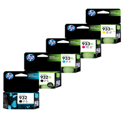 HP 932, 932XL, 933XL Ink Cartridges