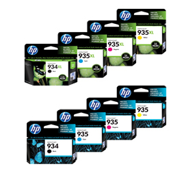 HP 934, 934XL, 935, 935XL Ink Cartridges