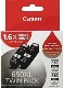 Canon PGI-650XLBK 2 Pack Bundle (Genuine)