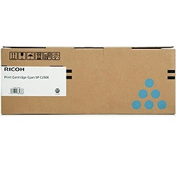 Ricoh 407548 Cyan (Genuine)