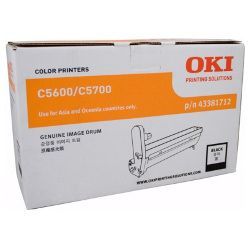 Oki 43381712 Black Drum Unit