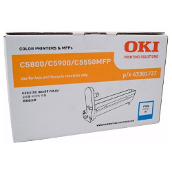 Oki 43381727 Cyan Drum Unit