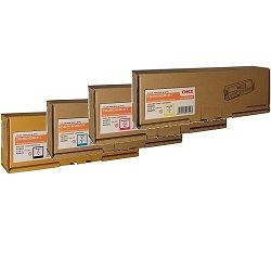 Oki 46490609-12 4 Pack Bundle (Genuine)