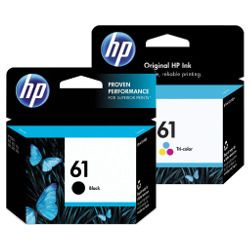 HP 61 4 Pack Bundle (CH51WA-CH562WA) (Genuine)