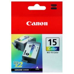 Canon BCI-15 Colour (Genuine)