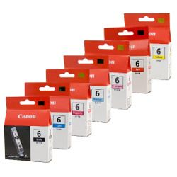 Canon BCI-6 7 Pack Bundle (Genuine)