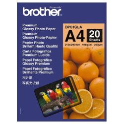 Brother BP61GLA A4 Premium Glossy Photo Paper