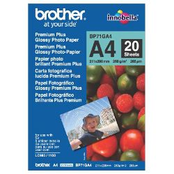 Brother BP71GA4 A4 Premium Plus Glossy Photo Paper
