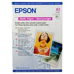 Epson S041261 A3 Matte Paper Heavy Weight