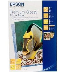 Epson C13S041729 White 4 x 6 inch Specialty Paper