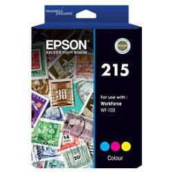 Epson 215 Colour (C13T216092) (Genuine)