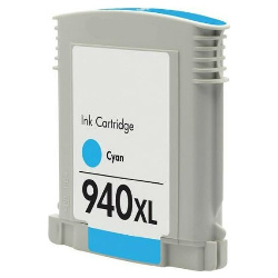 Remanufactured 940XL Cyan High Yield (C4907AA)