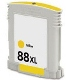 Compatible 88XL Yellow High Yield (C9393A)