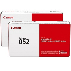 Canon CART052 2 Pack Bundle (Genuine)