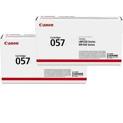 Canon CART057 2 Pack Bundle (Genuine)