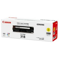 Canon CART318Y Yellow (Genuine)