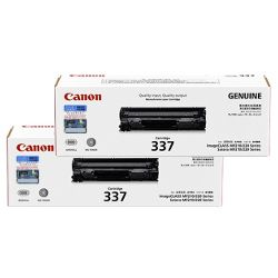 Canon CART337 2 Pack Bundle (Genuine)