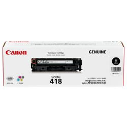 Canon CART418BK Black (Genuine)