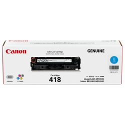 Canon CART418C Cyan (Genuine)