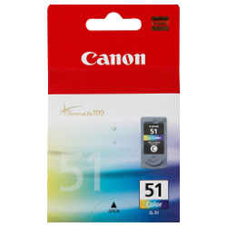 Canon CL-51 Colour High Yield (Genuine)