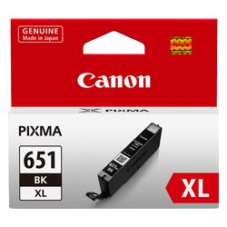 Canon CLI-651XLB Photo Black High Yield (Genuine)
