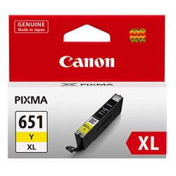 Canon CLI-651XLY Yellow High Yield (Genuine)