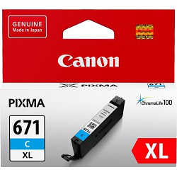 Canon CLI-671XLC Cyan High Yield (Genuine)
