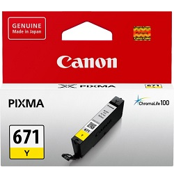 Canon CLI-671Y Yellow (Genuine)