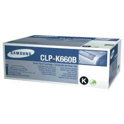 Samsung CLP-K660B Black (Genuine)