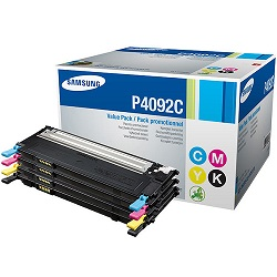 Samsung CLT-P409C 4 Pack Bundle (Genuine)