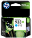 HP CN054AA (HP933XL) Cyan High Yield Genuine InkJet Cartridge