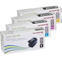 Fuji Xerox CT202264-CT202267 4 Pack Bundle (Genuine)