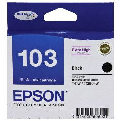Epson 103 Black High Yield (T1031) (Genuine)