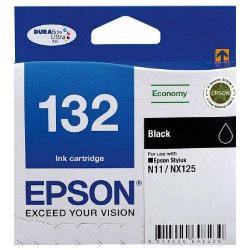Epson 132 Black (C13T132192) (Genuine)