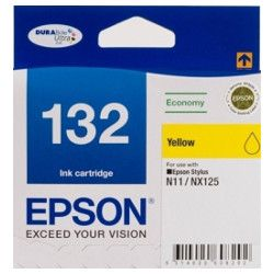 Epson 132 Yellow (C13T132492) (Genuine)