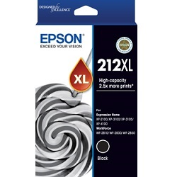 Epson 212XL Black High Yield (C13T02X192) (Genuine)
