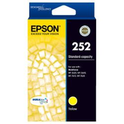 Epson 252 Yellow (C13T252492) (Genuine)