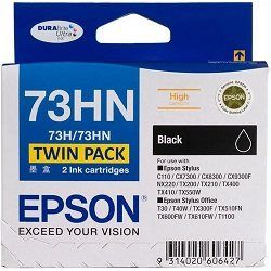 Epson 73HN 2 Pack Bundle (Genuine)