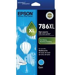 Epson 786XL Cyan High Yield (C13T787292) (Genuine)