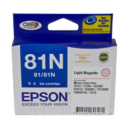 Epson 81N Light Magenta High Yield (T1116) (Genuine)