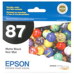 Epson 87 Matt Black (T0878) (Genuine)