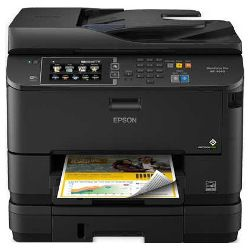 Epson Workforce Pro WF-4640 Multi Function Colour InkJet Wireless Printer + Duplex