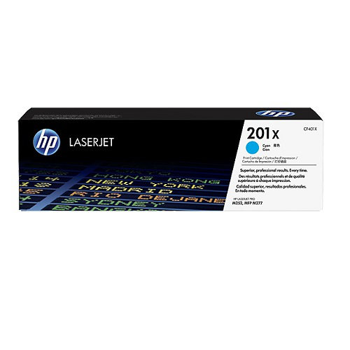 HP 201X Cyan High Yield (CF401X) (Genuine)
