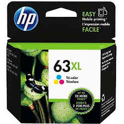 HP 63XL Tri-Colour High Yield (F6U63AA) (Genuine)